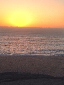 sunset @ half moon bay