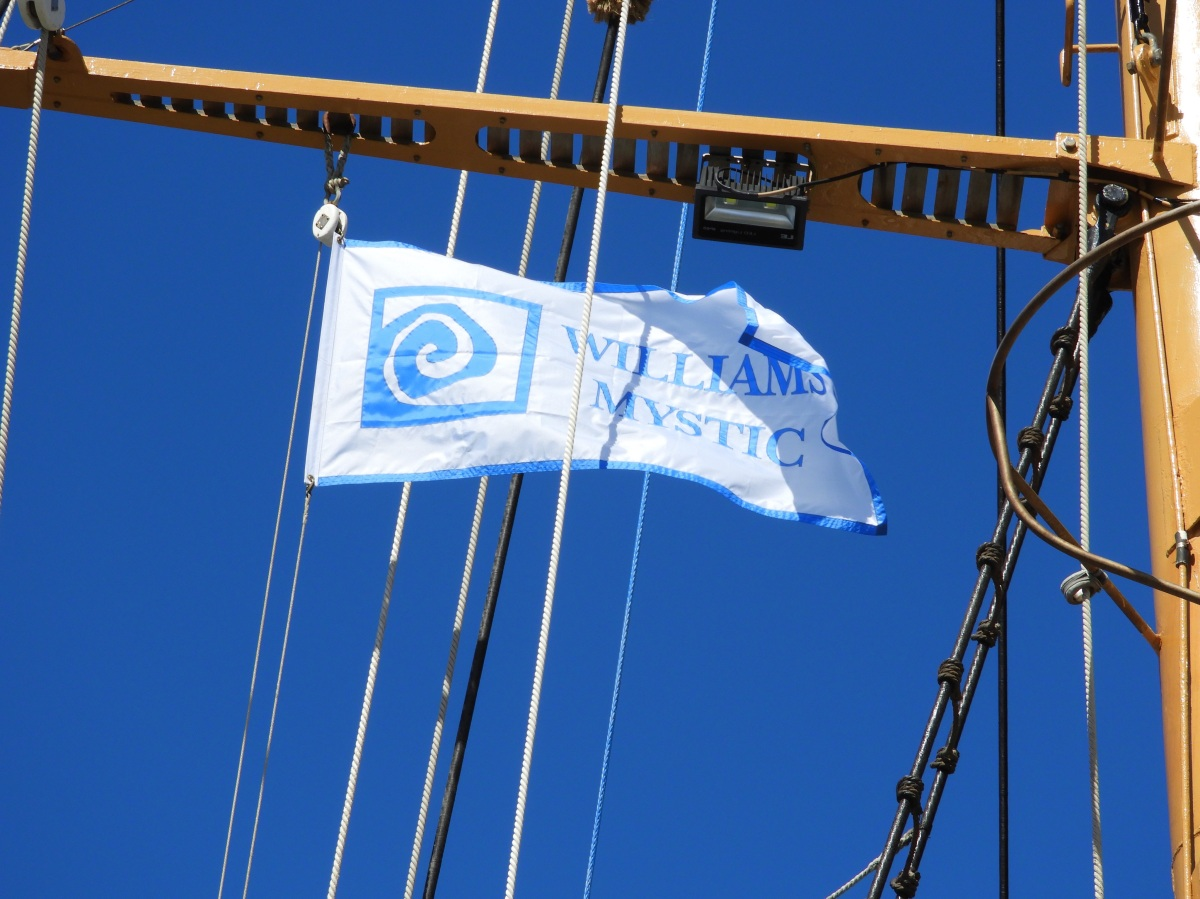 Making the Leap aboard the Corwith Cramer