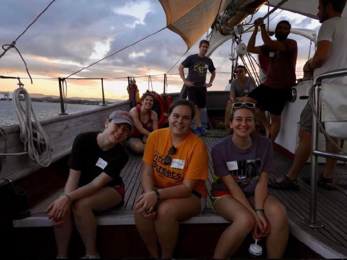 Setting Sail, Take Two: Kathryn Jackson's (S'17) Offshore Voyage Journey